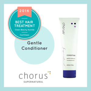 Chorus Gentle Conditioner CertClean Seal