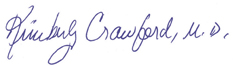 Dr Crawford Endorsement sign