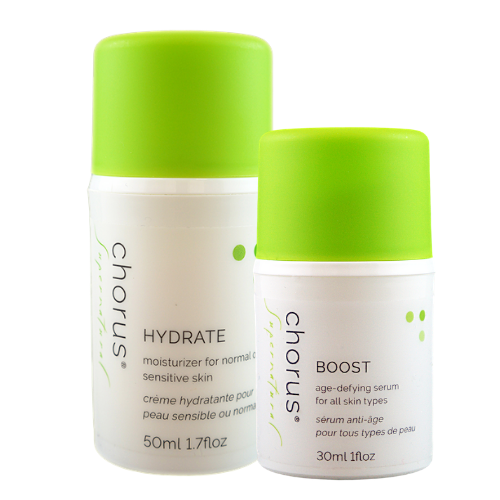 BOOST & HYDRATE | Anti-Ageing All Day Care Set | Sensitive Skin