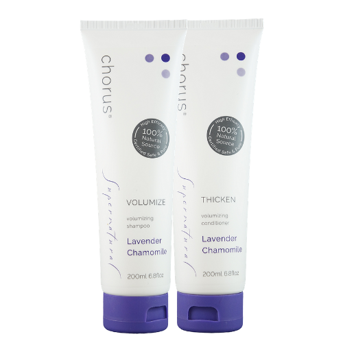 LAVENDER CHAMOMILE Soft Volume Set | Sulphate-Free Shampoo & Conditioner