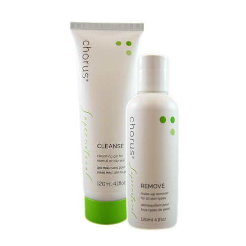 REMOVE & CLEANSE | Complete Cleansing Set | All-In-One Waterproof Make Up Remover & Cleansing Gel