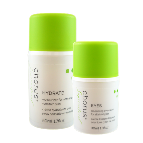 HYDRATE & EYES | Super Soothing Moisturizer & All-In-One Eye Cream | Suitable For Sensitive Skin